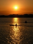1785 kayak sunset feature