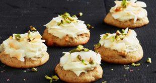 Banana cream cheese biscuits