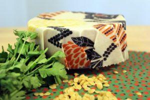DIY beeswax food wraps