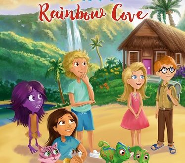 Elastic Island Rainbow Cover