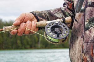Fly fishing - reel
