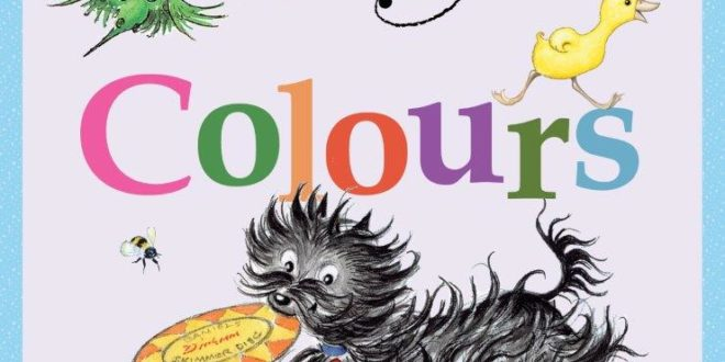 Hairy Maclary Colours cover