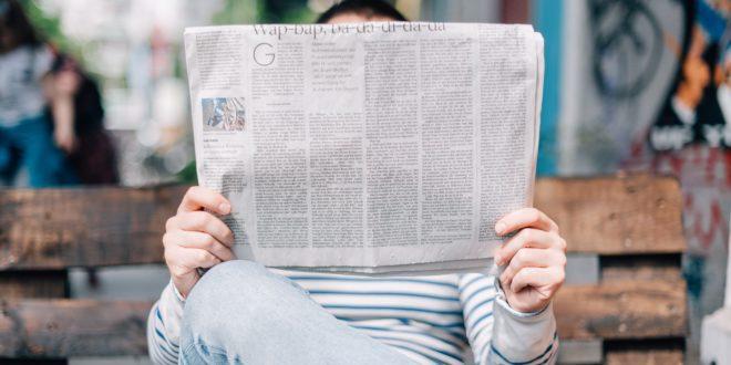 Newspaper joke