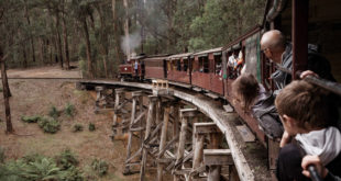 Puffing Billy Steam Train, Victoria with AAT Kings