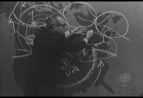 video 1960s weatherman